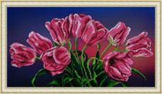 Набор для вышивки бисером Букет тюльпанов Картины бисером Р-158