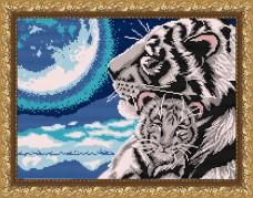 Рисунок на габардине для вышивки бисером Колыбельная Art Solo VKA3045
