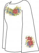 Заготовка для вышивки сорочки (Заготовка для вишиванки бісером)