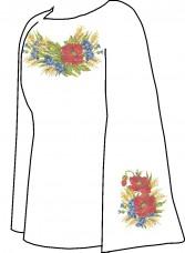 Заготовка для вышивки сорочки (Заготовка для вишиванки бісером) Княгиня Ольга СВЖ-6