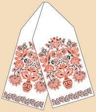 Рисунок на габардине для вышивки бисером Свадебный рушник Марiчка (Маричка) РБ-1015