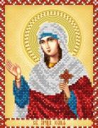 Рисунок на атласе для вышивки бисером Св. Мученица Юлия