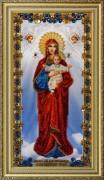 Набор для вышивки бисером Икона Божьей Матери Благодатное Небо