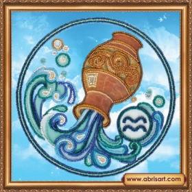 Набор для вышивки бисером Знак Зодиака. Водолей Абрис Арт АВ-332-11 - 160.00грн.