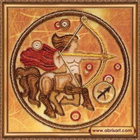 Набор для вышивки бисером Знак Зодиака. Стрелец, , 160.00грн., АВ-332-09, Абрис Арт, Гороскоп