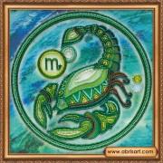 Набор для вышивки бисером Знак Зодиака. Скорпион