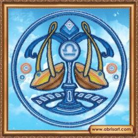 Набор для вышивки бисером Знак Зодиака.. Весы, , 160.00грн., АВ-332-07, Абрис Арт, Гороскоп