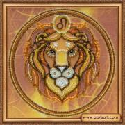 Набор для вышивки бисером Знак Зодиака. Лев