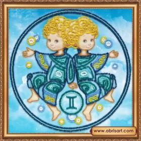 Набор для вышивки бисером Знак Зодиака. Близнецы Абрис Арт АВ-332-03 - 160.00грн.