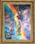 Набор для вышивки бисером Ирис, хранительница радуги (по мотивам Дж. Уолл)