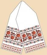 Рисунок на ткани для вышивки бисером Рушник под каравай