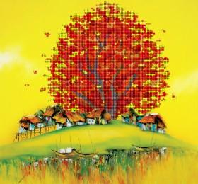 Рисунок на ткани  для вышивки бисером Восточная осень А-строчка АКЗ-004 - 85.00грн.