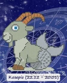 Рисунок на ткани для вышивки бисером Знак зодиака. Козерог Княгиня Ольга СД-110 - 24.00грн.