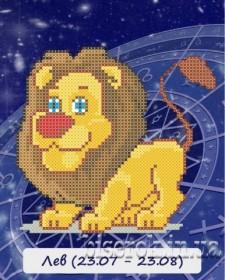 Рисунок на ткани для вышивки бисером Знак зодиака. Лев Княгиня Ольга СД-105 - 24.00грн.