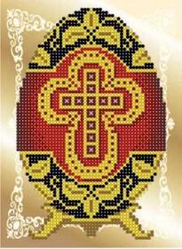 Рисунок на ткани для вышивки бисером Фаберже Княгиня Ольга СД-043 - 24.00грн.