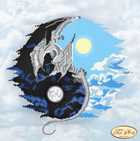 Рисунок на ткани для вышивки бисером Инь и Янь Tela Artis (Тэла Артис) ТА-006 - 98.00грн.