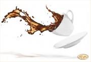 Рисунок на ткани для вышивки бисером Бодрящий кофе