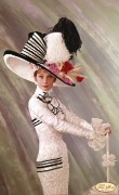 Рисунок на ткани для вышивки бисером Великолепная Одри