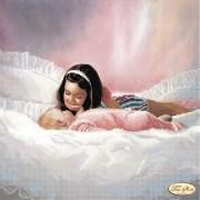 Рисунок на ткани для вышивки бисером Малыш