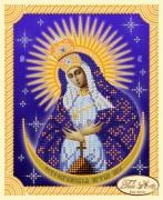 Рисунок на ткани для вышивки бисером Божья Матерь Остробрамская