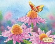 Рисунок на ткани для вышивки бисером Летняя сказка