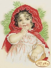 Рисунок на ткани для вышивки бисером Красная шапочка Tela Artis (Тэла Артис) ТМ-045