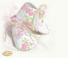Рисунок на ткани для вышивки бисером Детская метрика Принцесса Tela Artis (Тэла Артис) ТМ-050