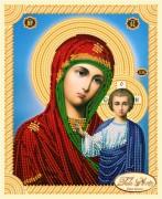 Рисунок на ткани для вышивки бисером Божья Матерь Казанская