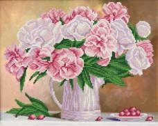 Рисунок на ткани для вышивки бисером Аромат пионов Марiчка (Маричка) РКП-271