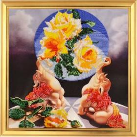 Набор для вышивки бисером Сфера удачи, , 325.00грн., НГ-034, Tela Artis (Тэла Артис), Схемы и наборы для вышивки бисером по Фен шуй