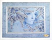 Набор для вышивки бисером Снежная королева
