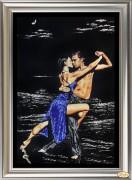 Набор в смешанной технике (бисер + стразы) Странные танцы 2