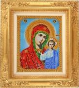 Набор для вышивки бисером Божья Матерь Казанская