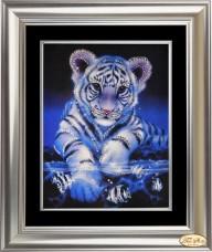 Набор со стразами Озорной тигрёнок Tela Artis (Тэла Артис) КС-004 ТА