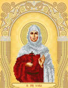 Рисунок на ткани для вышивки бисером Св. Мученица София