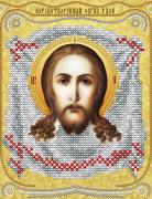 Рисунок на ткани для вышивки бисером Спас Нерукотворный