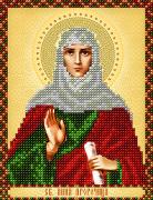Рисунок на ткани для вышивки бисером Св. Анна Пророчица