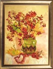 Набор для вышивки бисером Красота осени Баттерфляй (Butterfly) 240Б