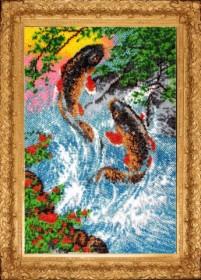 Набор для вышивки бисером Золотые карпы Баттерфляй (Butterfly) 602Б - 528.00грн.