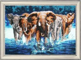 Набор для вышивки бисером Слоны Баттерфляй (Butterfly) 603Б - 828.00грн.