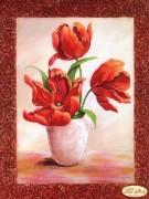 Рисунок на ткани для вышивки бисером Магический тюльпан