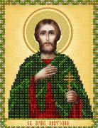 Рисунок на ткани для вышивки бисером Св. Мученик Анатолий