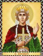 Рисунок на ткани для вышивки бисером Св. Мученица Александра
