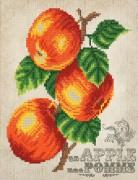 Рисунок на ткани для вышивки бисером Винтаж. Яблоки