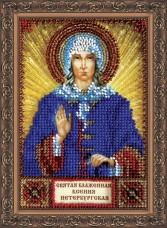 Набор для вышивки бисером Святая Ксения Абрис Арт ААМ-028