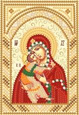 Рисунок на ткани для вышивки бисером Богородица Владимирская Марiчка (Маричка) РИК-5706
