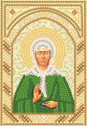 Рисунок на ткани для вышивки бисером Св. Блж. Матрона Московская