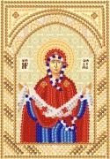 Рисунок на ткани для вышивки бисером Покров Пресвятой Богородицы