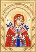 Рисунок на ткани для вышивки бисером Богородица Семистрельная