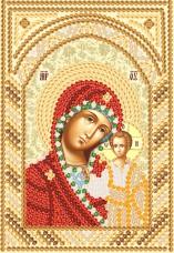 Рисунок на ткани для вышивки бисером Богородица Казанская Марiчка (Маричка) РИК-5703
